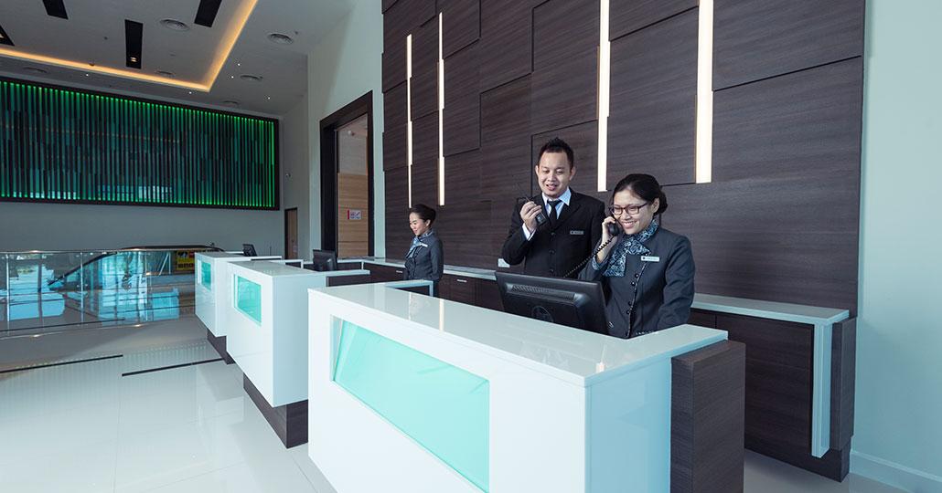 Riverside Majestic Astana Wing Lobby