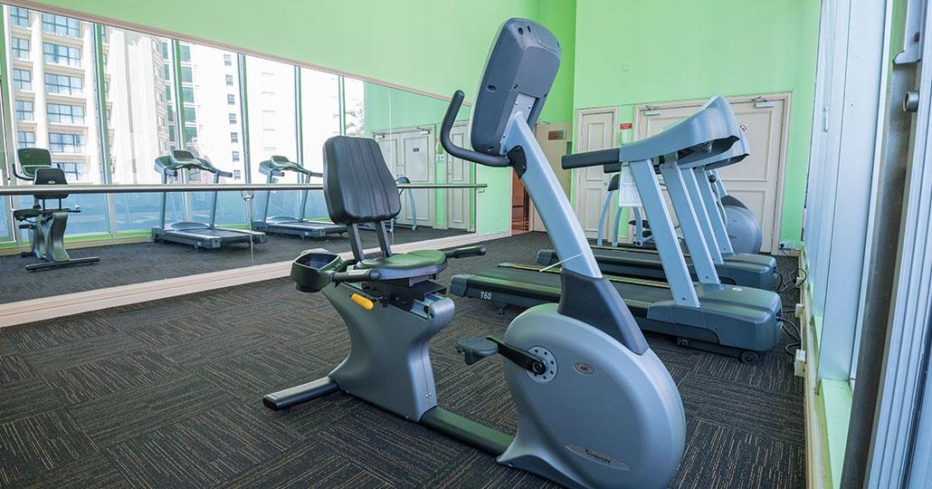 Cardio Exercise Room